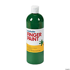 Washable Green Finger Paint - 16 oz.
