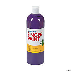 Washable Purple Finger Paint - 16 oz.