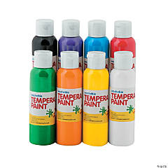 Tempera Paint Set - 4 oz.