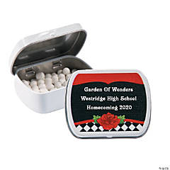 Personalized Garden of Wonders Mint Tins