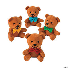 Bow Tie Stuffed Bears