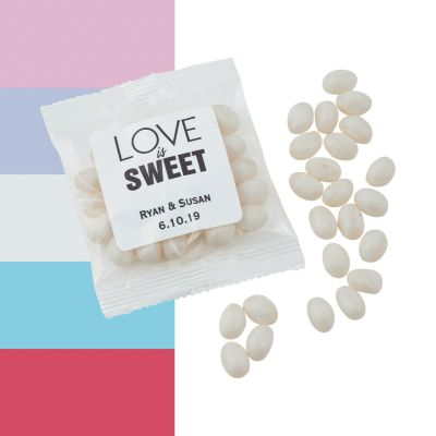wedding jelly beans personalized