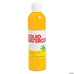 Yellow Washable Liquid Watercolor Paint