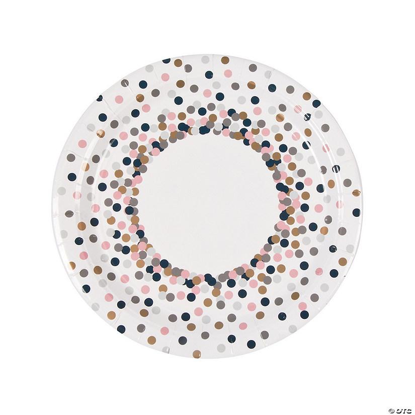sc 1 st  Oriental Trading & Confetti Design Paper Dinner Plates