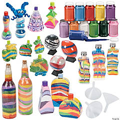 Sand Art Basics Craft Pack Assortment