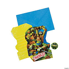 Teenage Mutant Ninja Turtles™ Thank You Cards