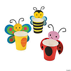 Spring Bug Characters Treat Cup Craft Kit