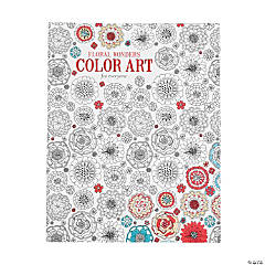 Floral Wonders Coloring Book