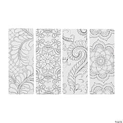 Creative Coloring Bookmarks Abstract