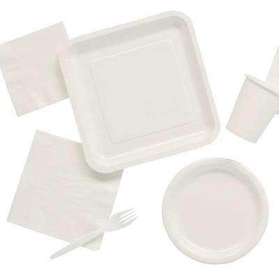 Tableware Party Tableware Plastic Cutlery Paper Plates