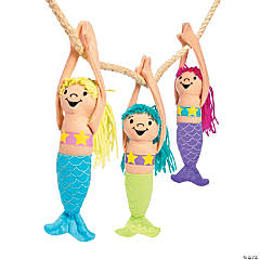 Long Arm Plush Mermaids