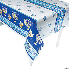 Happy Hanukkah Tablecloth