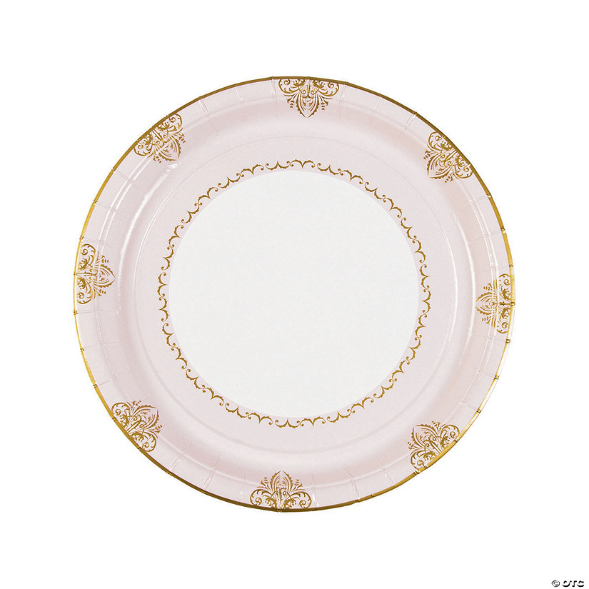 sc 1 st  Oriental Trading & Fairy Tale Wedding Paper Dinner Plates
