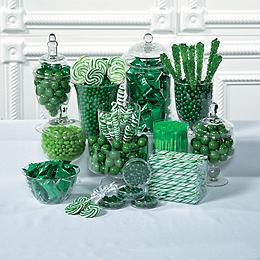 Green Candy Buffet