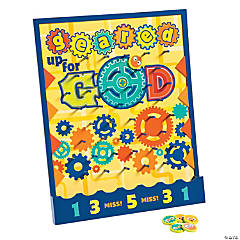 Geared up for god sunday school vbs teaching supplies craft geared up for god vbs disc drop game yadclub Images