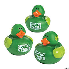 Mental Health Awareness Rubber Duckies