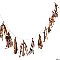 Copper Tassel Garland