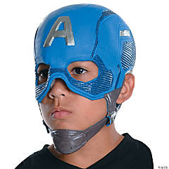 Boy's Captain America: Civil War™ Captain America Full Mask