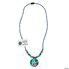 Earth Day Beaded Necklace Craft Kit