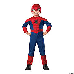 Toddler Boy's Deluxe Muscle Chest Spider-Man™ Costume