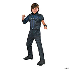 Captain America Deluxe Muscle Chest Hawkeye Halloween Costume for Kids