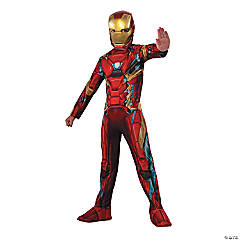 Boy's Captain America: Civil War™ Iron Man Costume