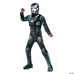 Boy's Deluxe Muscle Chest Captain America: Civil War™ War Machine Costume - Medium