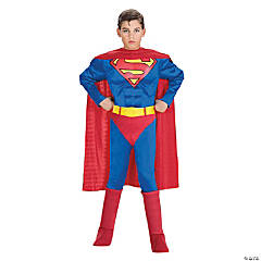 Boys' Deluxe Muscle Chest Superman Costume