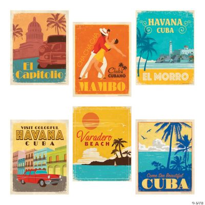 Cuban Party Posters Discontinued