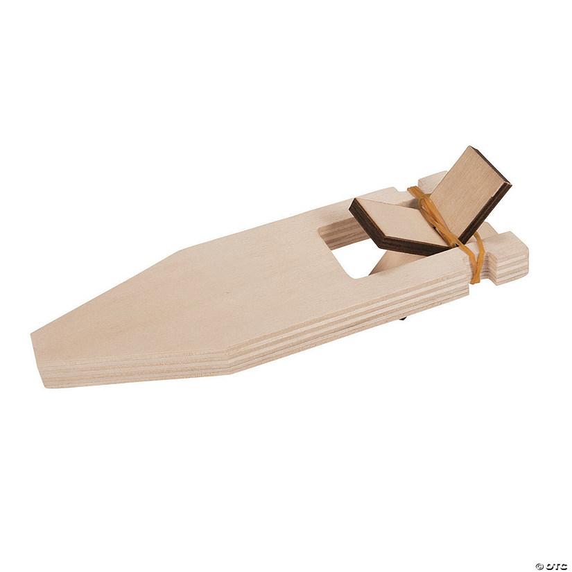 DIY Unfinished Wood Paddle Boat Kits