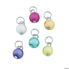 Bright Pearl Dangle Charms