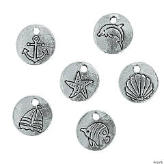 Seaside Disc Charms