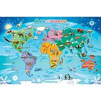 Usa floor map puzzle image of map of the world floor puzzle with sku13771173 sciox Image collections