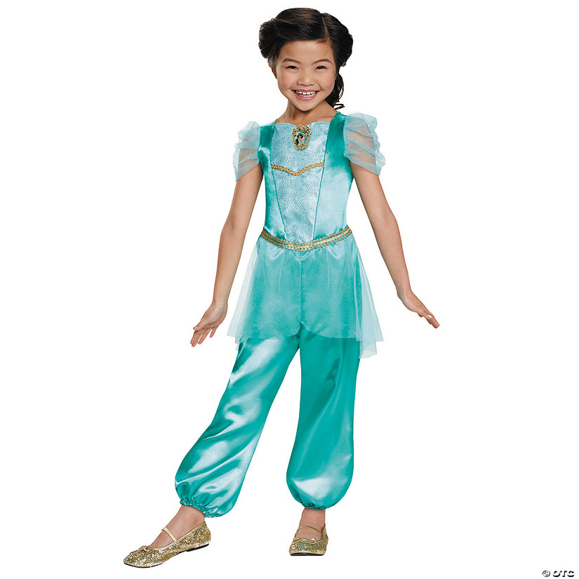 sc 1 st  Oriental Trading & Girlu0027s Classic Aladdin™ Jasmine Costume - Small