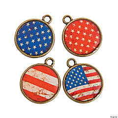 Rustic Patriotic Charms