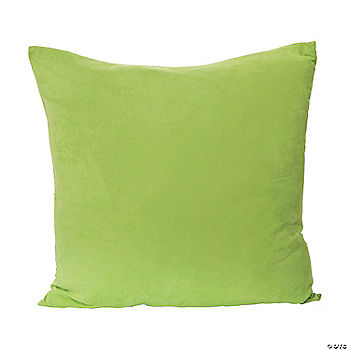 Green Floor Pillows : Jumbo Green Floor Pillow