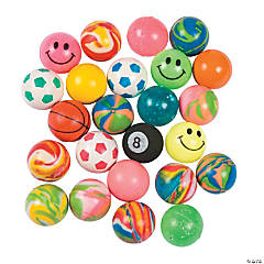 Bulk Vending Machine Assorted Bouncing Balls - 27mm
