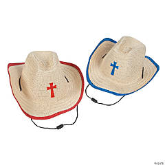 Child's Cowboy Hats with Cross