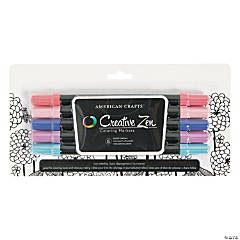 American Crafts™ 5 Pc. Pastel Adult Coloring Markers