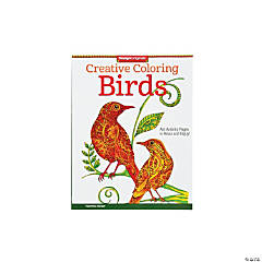 Creative Coloring Book: Birds