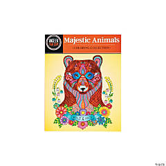 Majestic Animals Adult Coloring Book