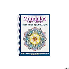 Mandalas & More Adult Coloring Book