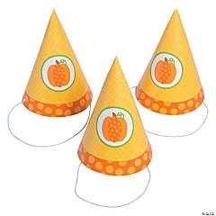Lil' Pumpkin Birthday Cone Hats