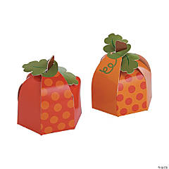 Lil' Pumpkin Party Favor Boxes