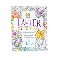 Quickview Image Of Religious Easter Adult Coloring Book With Sku13773808