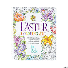 Religious Easter Adult Coloring Book