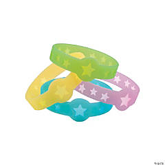 Star Glow-in-the-Dark Cutout Bracelets