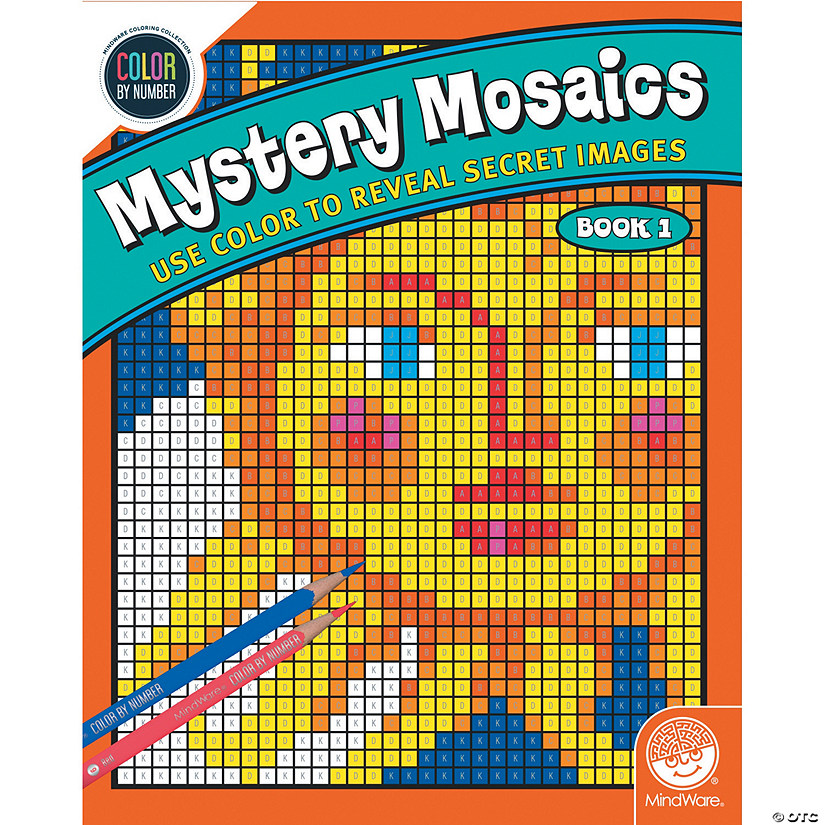 Color By Number Mystery Mosaics Book 1