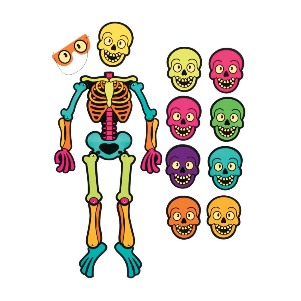 Halloween kids games ready to play boxed games - Scary skeleton games ...