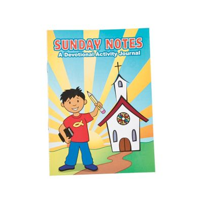 Sunday school lesson and activity book